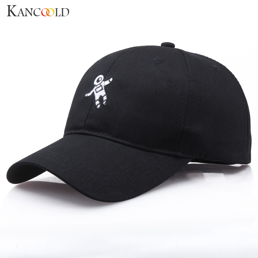 KANCOOLD Hat Woman Unisex Fashion Letter Hat Astronaut Emberoidery Baseball Cap High Quality Casual Hat Woman 2018NOV15