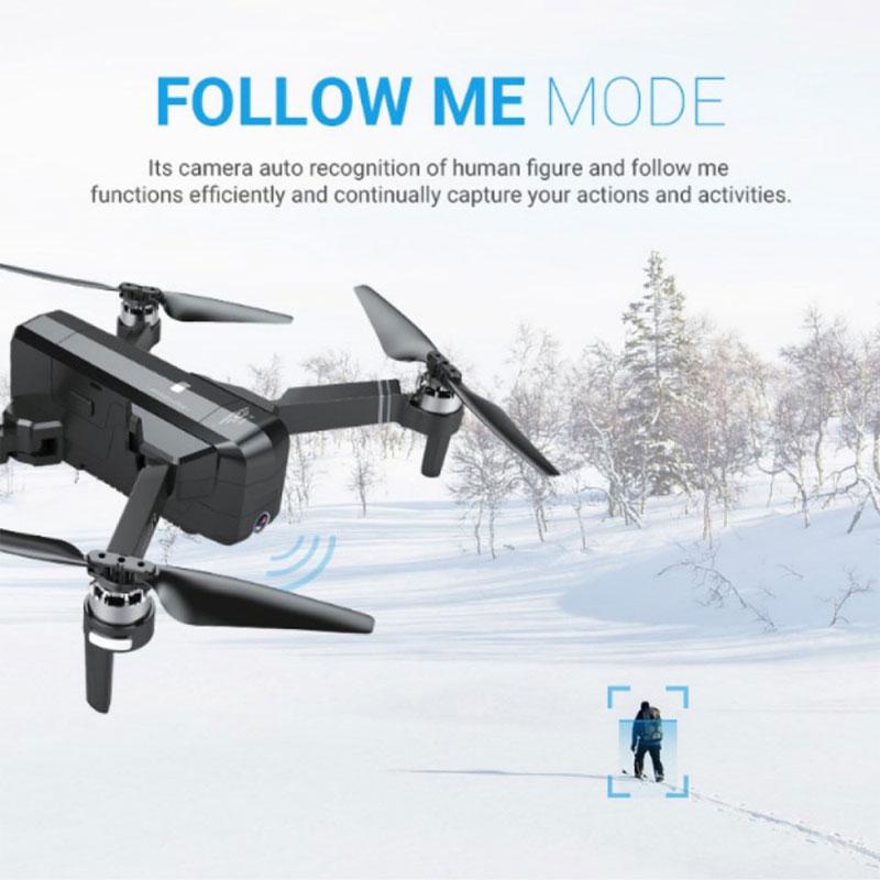 Clearance SaleGPS Drone Camera Wifi Brushless Quadcopter SG906 Sjrc F11 Flight-Time FPV Foldable 25-Minutes