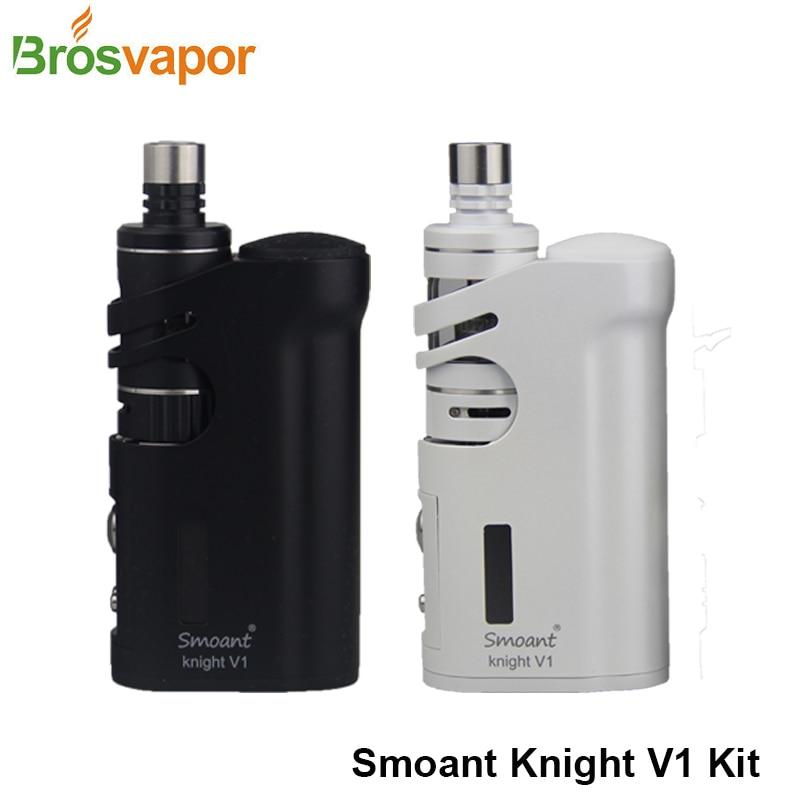 Original Cloupor Smoant Knight V1 Kit 1-60w Knight V1 TC Box Mod Talos V1 tank Cloupor E-Cigarette Knight Kit Free shipping. брюки милитари free knight 0958 2 freeknight 0958
