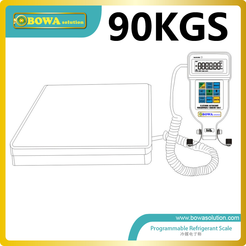90Kgs automatical gas charging scale for commerce refrigeration equipments and HVAC products  цены