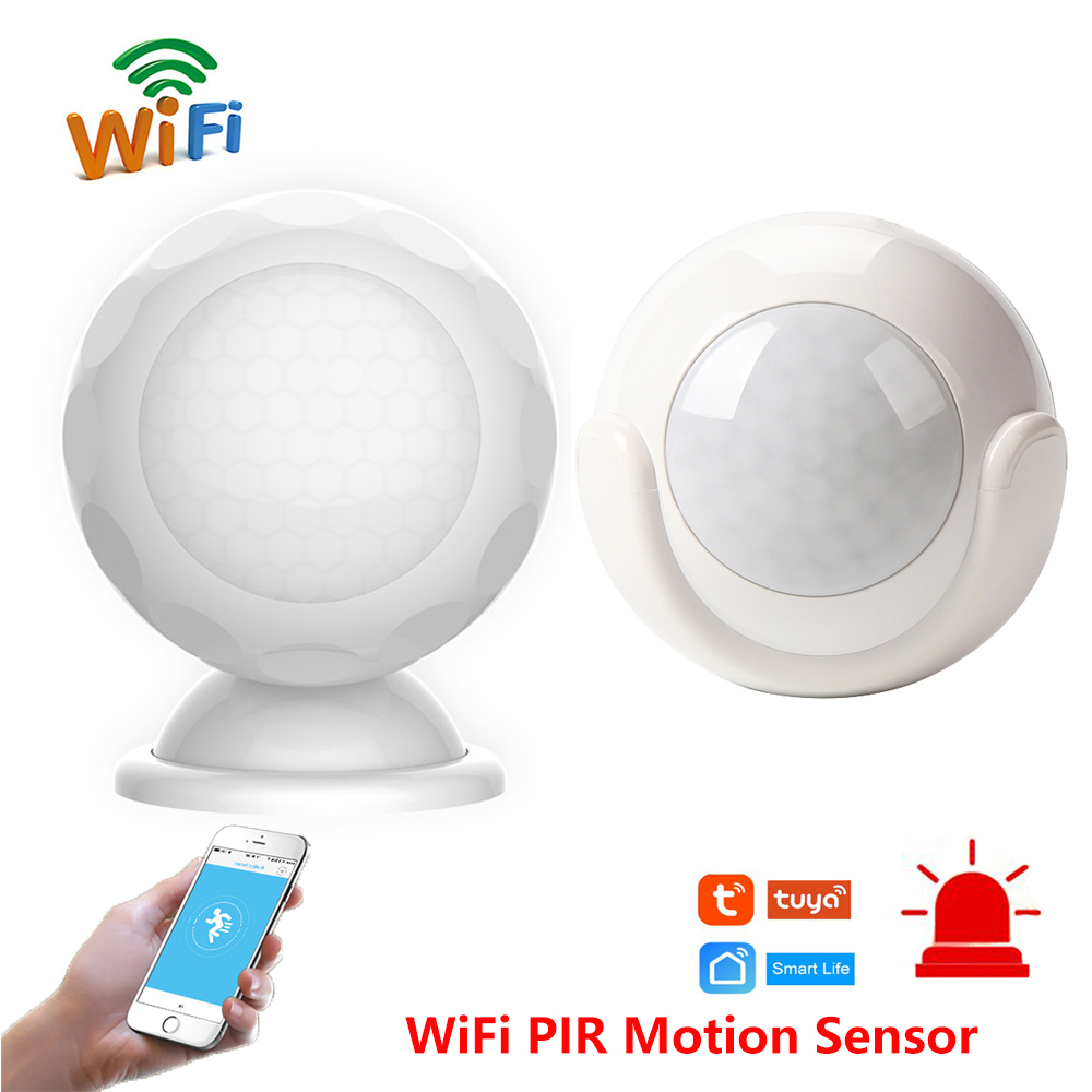Smart Home WiFi Motion Sensor PIR Detector App Notification Alerts Automation Security Sensor Anti Theft Alarm System Tuya Smart