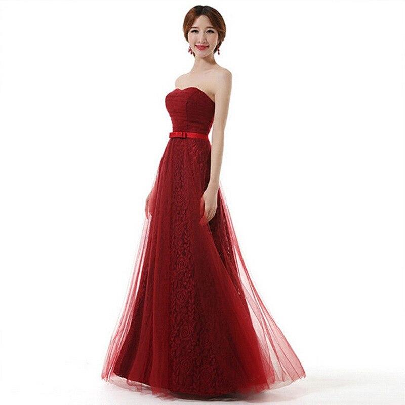 Robe de demoiselle d'honneur grande taille robe de soirée longue pour la fête de mariage