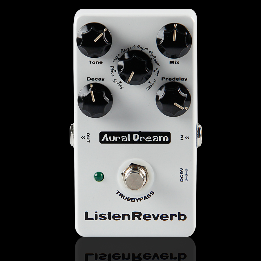 Aural Dream Listen Reverb Guitar Effects Pedal/High Quality&Digital Reverb Electric Guitar Effect Pedal/Guitar Accessories