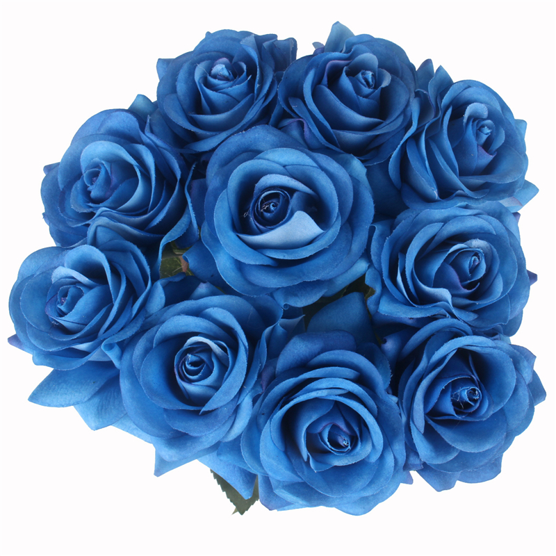 JAROWN Artificial Real Touch Hand Feel Rose Flowers For Valentine`s Day Preparation Wedding Decoration Home Decor (9)