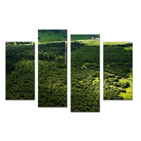 4PCS Light Cross The Mountain Paints Wall Painting Print On Canvas For Home Decor Ideas Paints