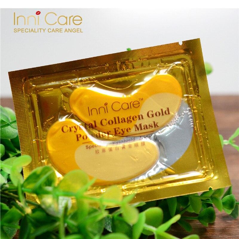 40pcs polvo de colágeno de cristal natural oro máscara de ojos - Cuidado de la piel - foto 6
