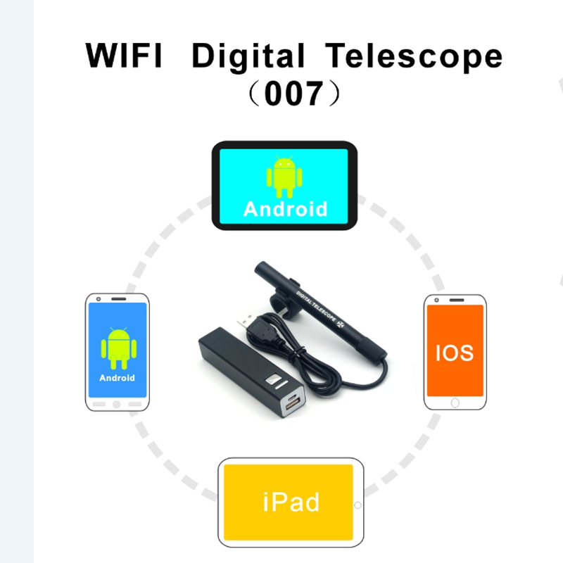 Wireless Digital Telescope 2MP HD 70X Mobile Phone PC Video Watch Photo Hunt Security Monitor WIFI
