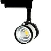 Adjustable 20W 30W COB LED Track Light Spot Light Fixtures LED Lamp Ceiling Mounted Rail Track Lamp Decorative Led spotlight