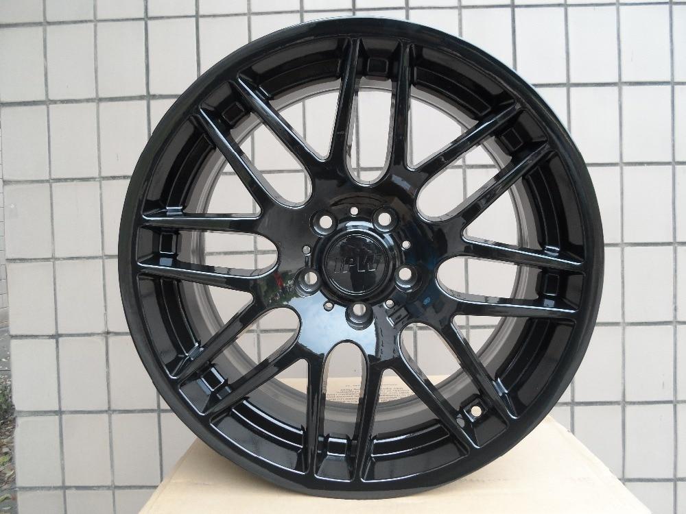Free Shipping Gloss Black 4 New 19x8 5 Rims wheels RIMS ET35mm Alloy Wheel Rims W703