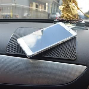 Image 5 - Tapis antidérapant de voiture auto intérieur tableau de bord téléphone gel tampons fixe gel double face pour bmw Kia Peugeot Suzuki Skoda Fiat Mitsubishi