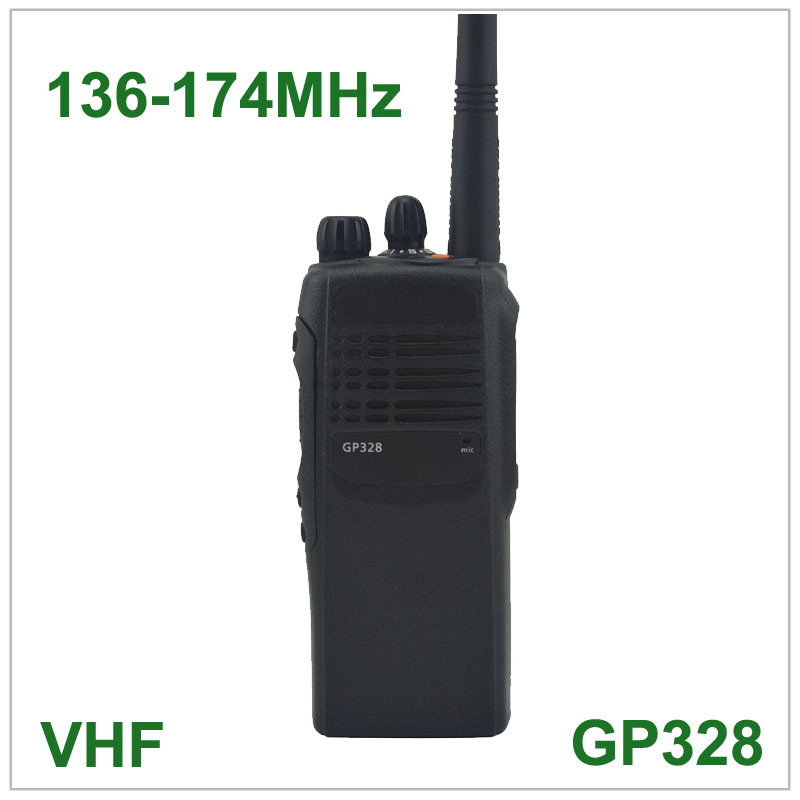 Walkie Takie GP328 VHF 136 174MHz PROFESSIONAL PORTABLE TWO WAY RADIO