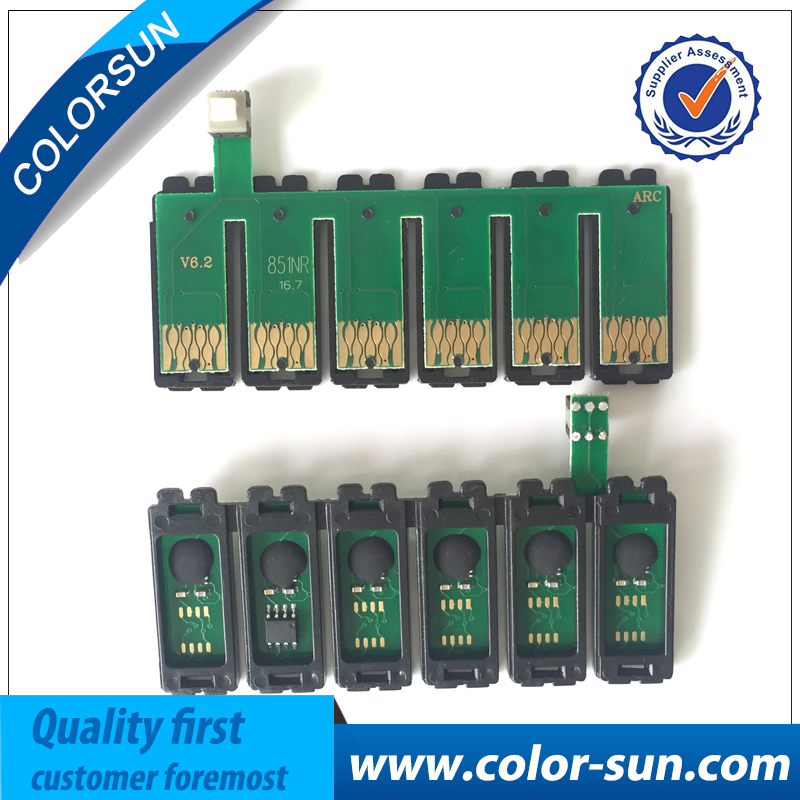 2sets T0851n T0851 0851 For Epson T60 R330 Empty Ink Cartridge With Chips Printer Supplies Computer & Office
