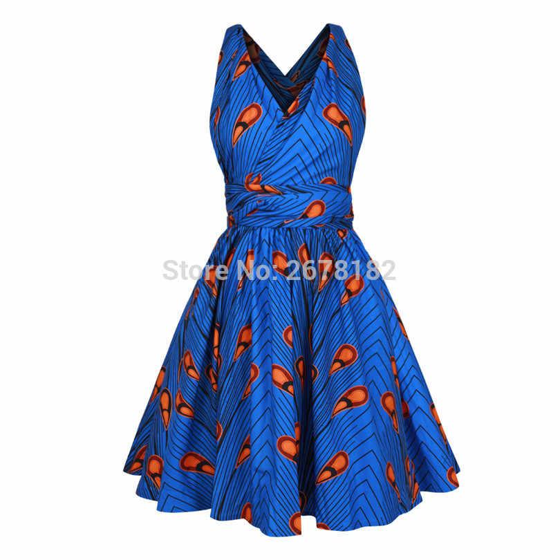 2018 Сексуальная африканская одежда для женщин африканский дизайн платье с принтом Американский мульти одежда платье быстрое изменение клуб облегающее платье для вечеринок