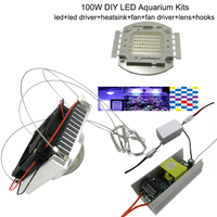 1pcs 100W Aquarium Light for Coral ,diy 100w Multichips Led Aquarium Led Chip ,best for marine,Fish Tank,for Coral,Reef Growing