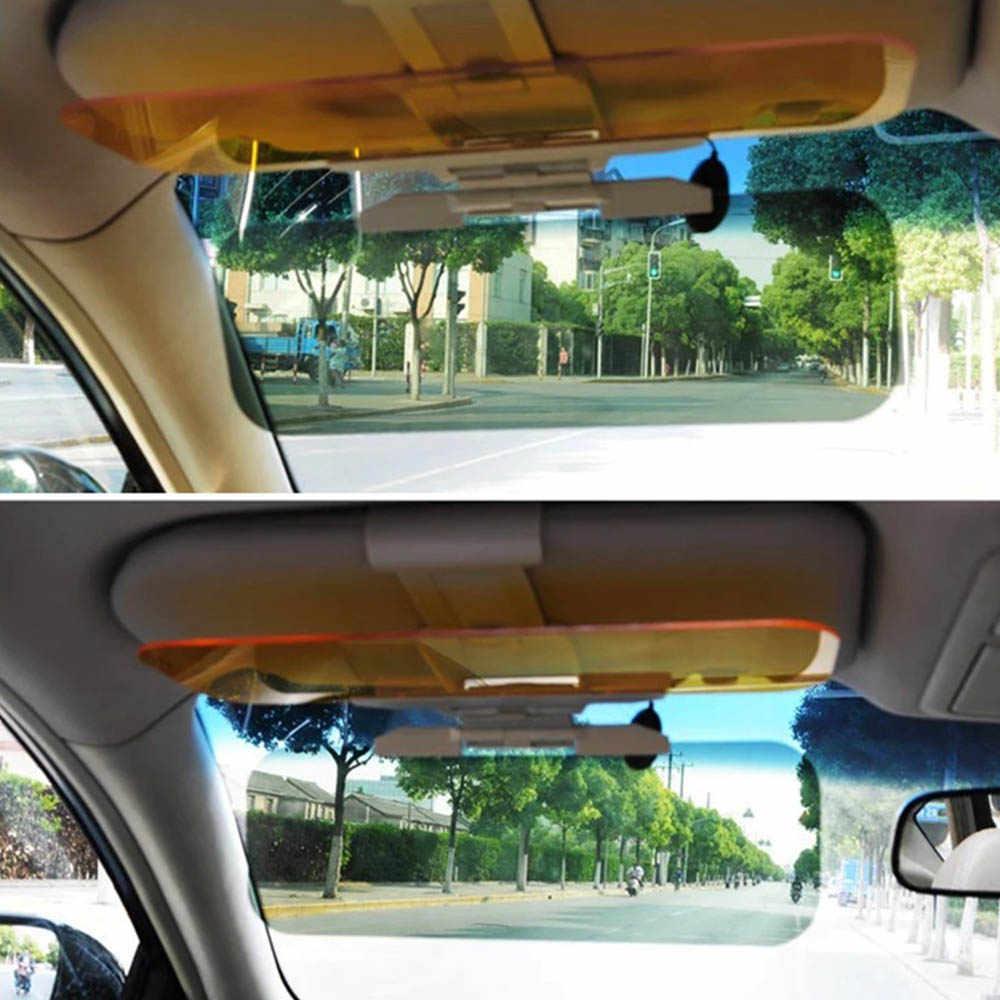 Xe ô tô-Tạo kiểu Tấm Che Nắng Ô Tô HD Chống Chói Mắt Kính Đi Ngày và Đêm với Gương UV Gấp Lật Xuống quan Điểm rõ ràng