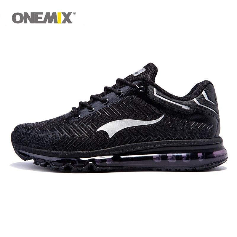 Onemix Brand men running shoes sports sneakers outdoor walking shoes for men light jogging shoes trekking