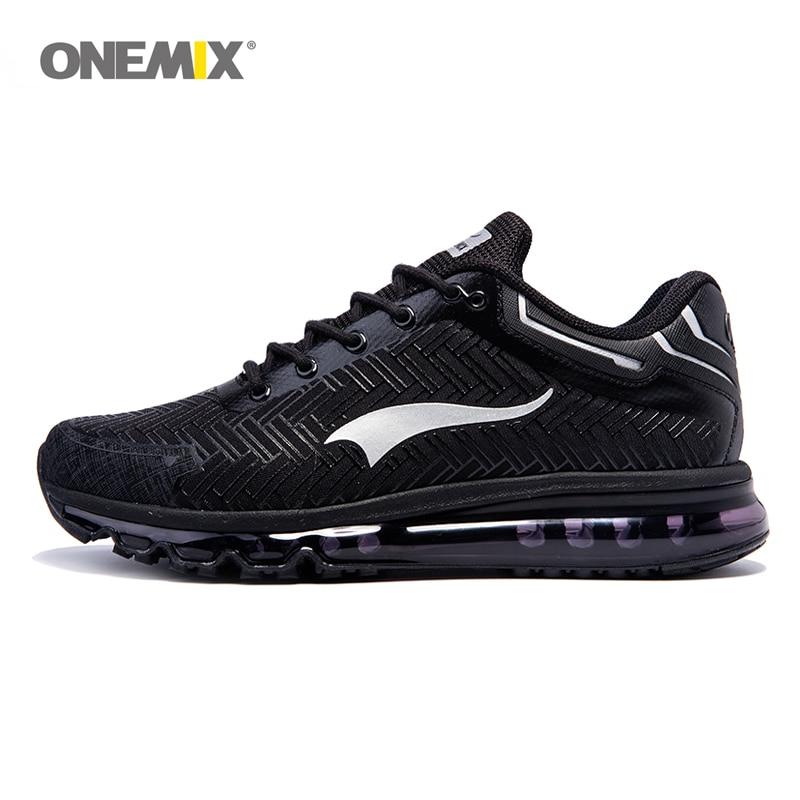 Onemix Brand menn løpesko sport joggesko utendørs walking sko for menn lys jogging sko trekking joggesko