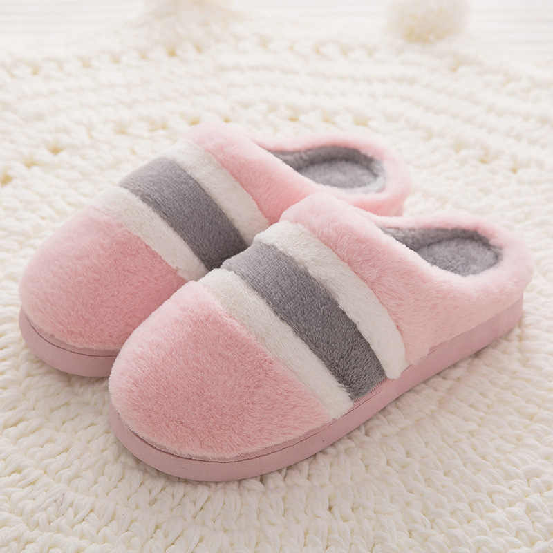 472d28e6e New Women Winter Warm thick Slippers Women Slippers Cotton Sheep Lovers  Home Slippers Indoor House Shoes Woman wholesale