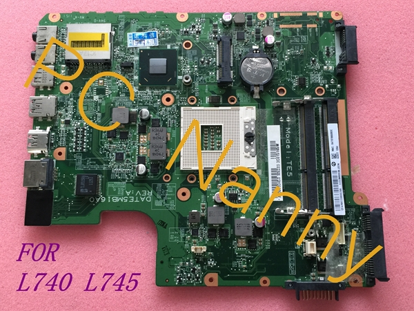 FOR Toshiba Satellite L745 L740 Intel Laptop Motherboard A000093450 DATE5MB16A0 HM65 TESTED