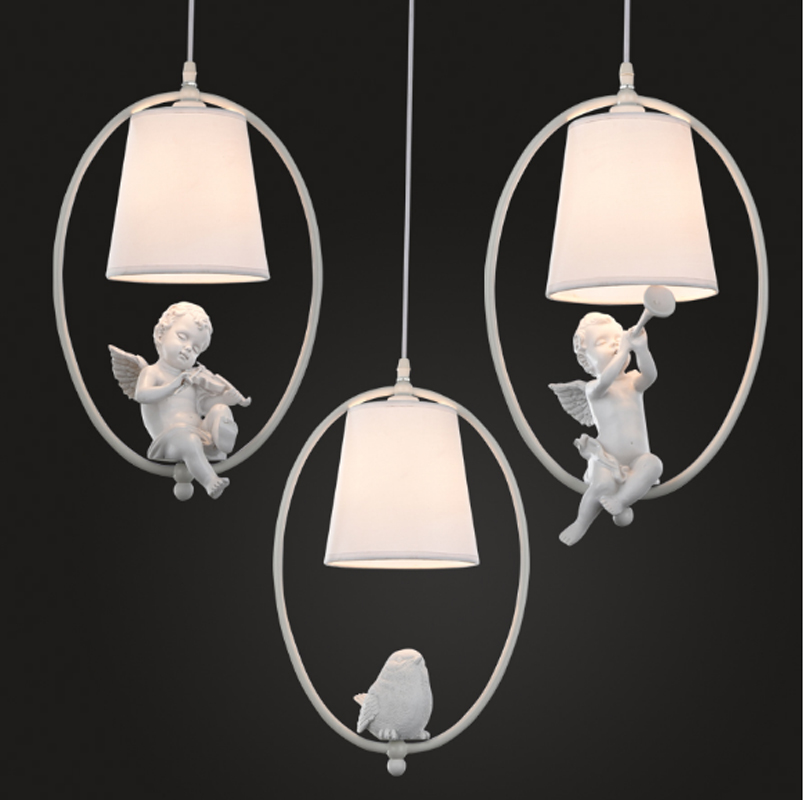 Angle Bird American Crystal Pendant Light GOLD Iron For Dining Room Restaurant Bedroom Coffee shop Living Room LED E27 bulbs american style crystal pendant light iron retro gold circular lamps for hotel living room restaurant bedroom dhl free