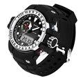 Fashion Digital Automatic Waterproof LED Watch Men Datajust Dual Display Sport Wristwatch Top Quality Military Clock Chronograph