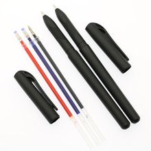 Office-Supplies Stationery Neutral-Ink Blue Refill Black School Student Child 2-Pen-Set