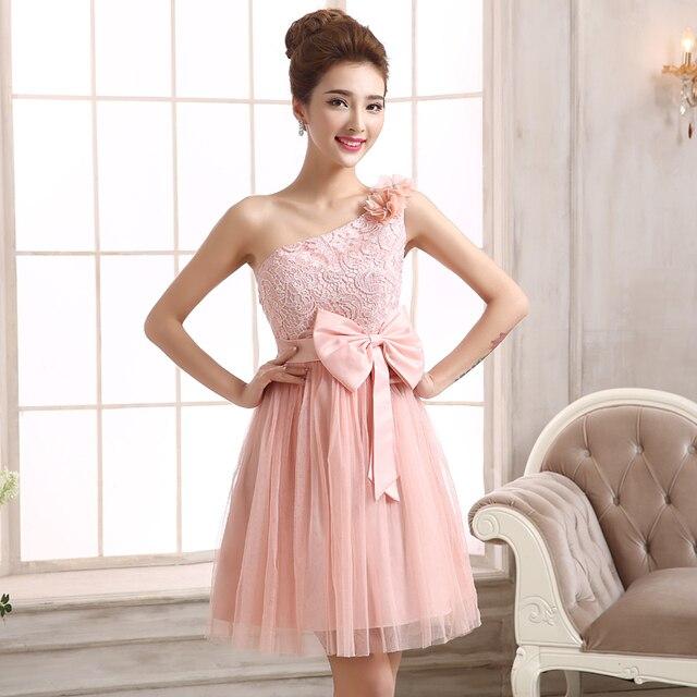 Kleider beige rosa