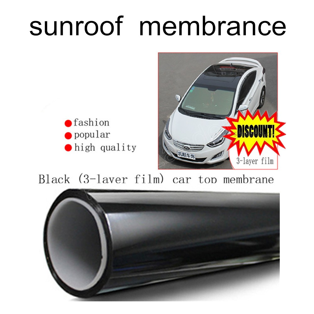 best selling Body stickers glue car decoration stickers panoramic sunroof membrane refires roof film cover car accessories