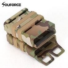 Высокое качество 9 цветов страйкбол винтовка 5,56 Mag M4 Журнал быстро прикрепить тактический Чехол Molle система жесткий корпус картридж для охоты