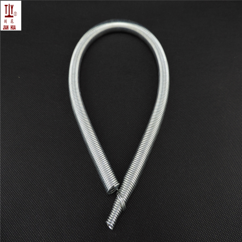 Free shipping extension spring 500mm 1PCS DN25mm manual pvc pipe bender spring tube bending tension spring hydropower tool 1pcs dn20mm manual wire bender 500mm inner pipe bending spring pvc wire spring tube bender silver