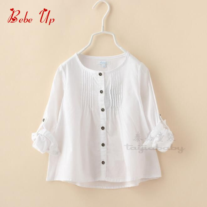 Aliexpress Com Buy Childrens Cotton School Blouse For