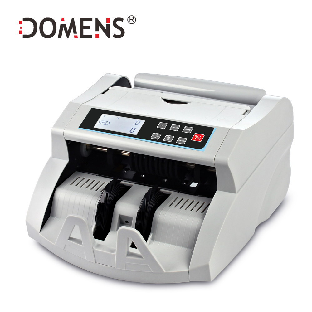Contador de dinero automático con UV + MG + IR + DD que detecta la máquina de recuento de efectivo adecuada para multimoneda contador de billetes recién llegado