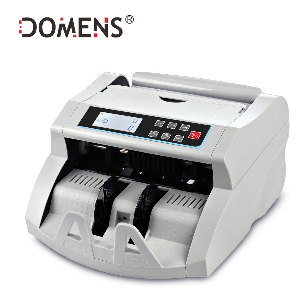 Contre De L'argent automatique avec UV + MG + IR + DD Détection Monayeurs Machine Adapté pour Multi-Monnaie projet de loi Contre Nouvelle Arrivée