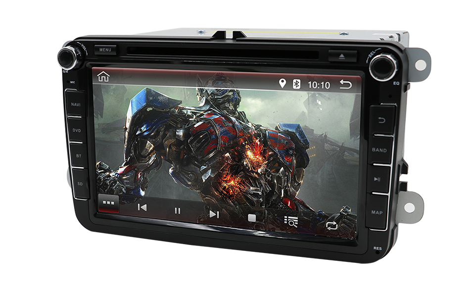 Double 2Din Android 9 0 Car DVD Multimedia Player for Volkswage Golf MK5 MK6 Passat B5 B6 Tiguan Polo skoda octavia rapid fabia in Car Multimedia Player from Automobiles Motorcycles