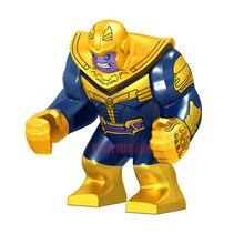 Single marvel Super Heroes Avengers Infinity War Thanos Iron Man Batman Outrider Glaivabuilding blocks Toy For Children B327