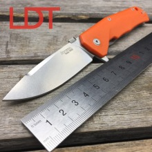 LDT LIONSTEEL TRE FC Folding Knives M390 Blade G10 Titanium Handle Flipper Camping Pocket Knife OEM Survival Outdoor Tools T6 T8