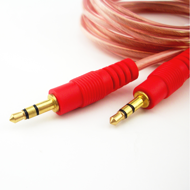 Male to male 3.5mm audio cable line aux car with Speaker computer ...