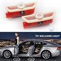 2 unids para Mercedes Benz Clase S W222 S400 S500 S550 S600 S63 S65 LLEVÓ puerta del coche luz bienvenido Logo Proyector coche que labra envío nave