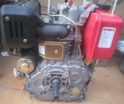 купить Fast Shipping Diesel Engine Electric Start 186FE 10HP air cooled Flat key shaft по цене 21840.8 рублей