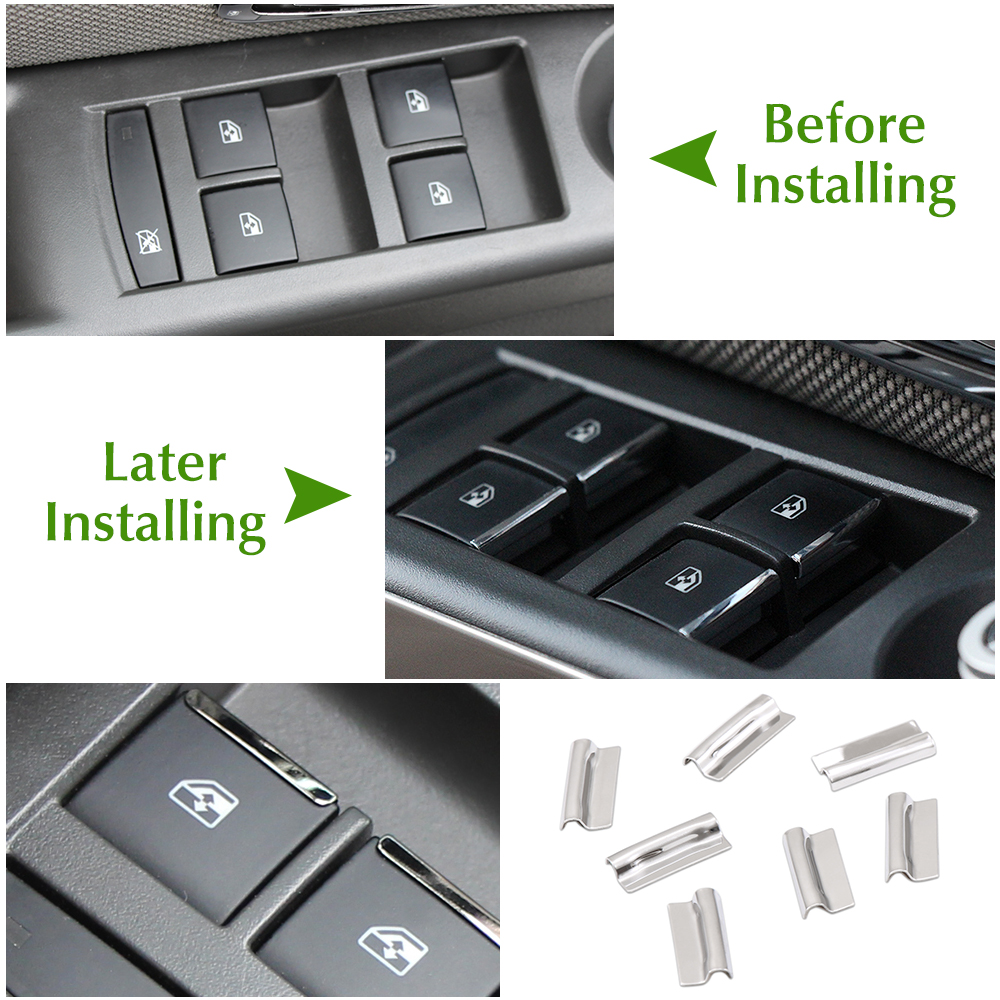 Image 4 - Door Window Switch Lift Button Cover Trim For Chevrolet Cruze 2009 2010 2014/Malibu 2012 2013 2014 For Opel Mokka Insignia-in Car Stickers from Automobiles & Motorcycles