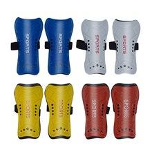 Для взрослых детей футбольные тренировочные щитки сверхлегкие накладки футбольные защитные регулируемые полосы для ног Защитные Спортивные щитки для голени Новинка