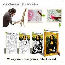 Street Corner DIY Digital Oil Painting By Numbers