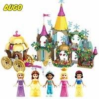 Frozene 6で1プリンセス夢の城テーマビルディングブロックレンガ互換レゴ友人シリーズ教育プラスチックのおもちゃ女の子