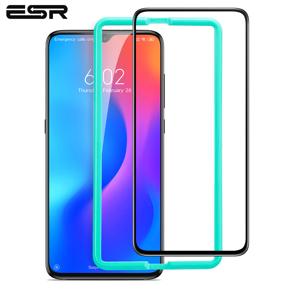 ESR Screen Protector for Xiaomi mi 9 Tempered Glass 3D Full Coverage Protective Glass 9H Anti Blue-ray Full Cover for Xiaomi mi9
