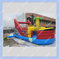 DHL Free Shipping 6meters/ 20ft Long  Inflatable Boat Slide for Rental Business/All New Inflatable Ship Slide