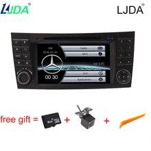 2Din автомобиля Радио для Mercedes-Benz E-класс W211 CLK G-Class W463 CLS W219 E200 E220 E240 E270 E280 автомобильный DVD GPS навигации стерео
