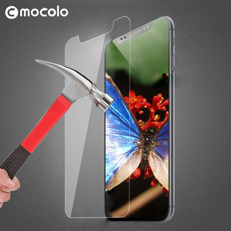 Mocolo New Arrival 2.5D 9H Tempered Glass for iPhone X Anti Scratch Screen Protector For iPhone 10 Glass Film With Retail Box