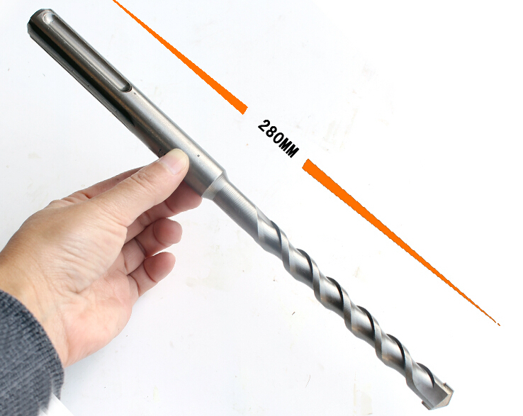 Free shipping of 1pc SDS-MAX  18*280mm TCT Tipped cross impact Drill Bits for home decoration wall brick/tile/pavel drilling free shipping of 1pc 18 228mm cnc grinded hss m2 made taper shank twist drill bits for various kinds of material drilling work