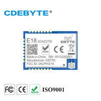 E18-2G4Z27SI Zigbee CC2530 PA CC2592 2,4 Ghz 500 mW IoT uhf Wireless Transceiver 27dBm 2,4 ghz Sender und Empfänger Modul