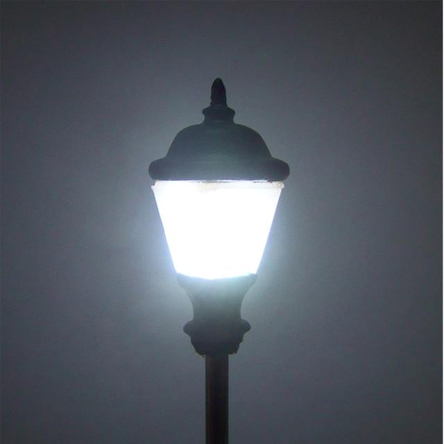 US $13 68 |10pcs/set European Style Train Ho Model Lights Lamps Model  Street Lampposts Led Garden Lights Lamp Sand Table Building Usage-in  Outdoor